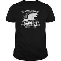 Cool Best BIG WOODY JOHNSONS TAXIDERMY SHIRTFRONT Shirt T shirts