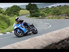 Isle of Man TT Course on the Suzuki GSX-S1000F
