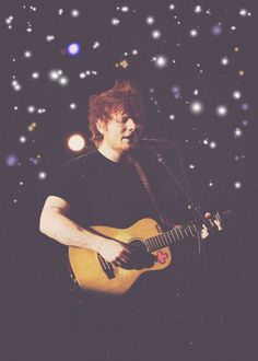 Edward Christopher Sheeran is my perfect human being .. you bean
