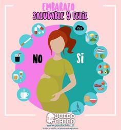 ¡Ten un embarazo saludable y feliz!#QuedoChico