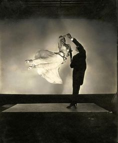 The renowned ballroom dancing team Antonio de Marco and Renée de Marco, 1935 , by Edward Steichen
