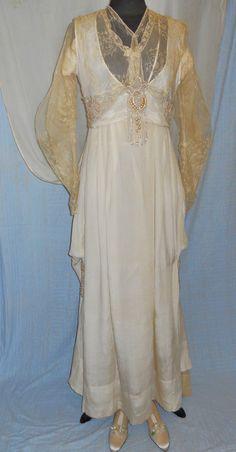 """1920""s Wedding Gown"