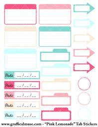 free printable planner sticker - Google Search