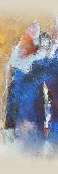 Schilderijen - Sietse Goverts. Schildert in Nederland en Frankrijk. Exposeert sinds 1977 internationaal. Kenmerkend is het kleurgebruik, textuur, licht.
