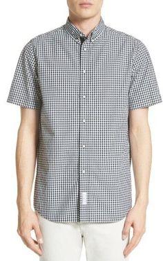 Rag & Bone Men's Smith Trim Fit Check Sport Shirt
