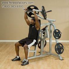 Body-Solid Pro Clubline Leverage Shoulder Press - LVSP