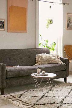 Ethan Marled Chenille Sofa Urban Apartment Ideas Dream Furniture Cool