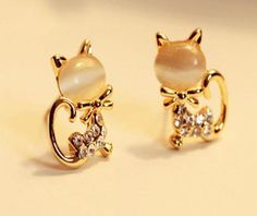 ae4aa5a57 32 Best Stud Earrings 1 images | Boucle d'oreille, Studs, Curls