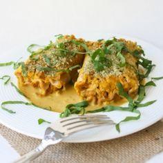 #333190 - Butternut Squash Lasagna Roll Ups with Pumpkin Seed Parmesan