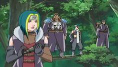 Last battle of Naruto Classic: The Four Celestials