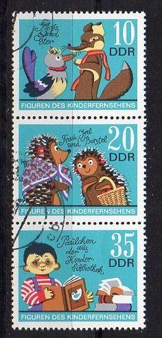 #Kinderfernsehen der #DDR bei #Freistempelauktion - Das Auktionshaus für Sammler !