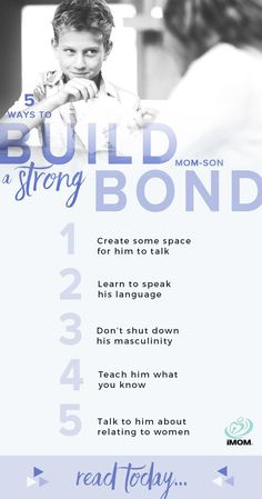 5 Ways To Build A Strong Mom-Son Bond