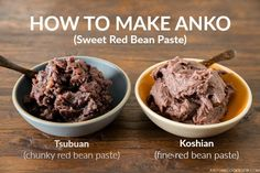 Delicious and easy anko recipe (red bean paste) prepared in a pressure cooker just in a few easy steps. Use it as filling in your favorite Japanese sweets and desserts!