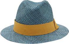 001e66855e7 Love this  Grey Straw Fedora Hat  Lyst Straw Fedora