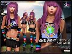 Danika Design - Express 7: One World