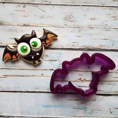 "2.5"" x 4.5"" Bat or Halloween Bat Cookie Cutter or Fondant Cutter and Clay Cutter"