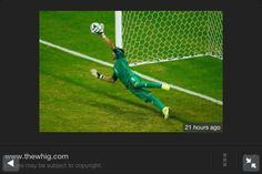 Who says #goalkeepers don't win matches? Navas makes a fantastic save for Costa Rica. One of the outstanding gk's in Brazil