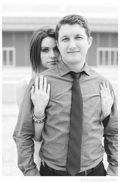 LACMA Engagement Session — Brooke Merrill Photography  Great ideas for posing couples for their engagement session on this site.