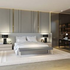 Glamorous and exciting bedroom decor.  See more luxurious interior design details at http://luxxu.net