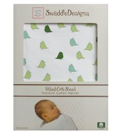 Amazon.com: SwaddleDesigns Jewel Tone Little Chickies Fitted Crib Sheet, Pure Green: Baby