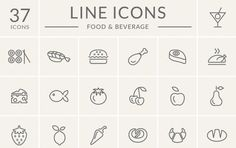 600+ Food Related Design Resources » CSS Author