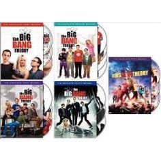 Big Bang Theory Seasons 1-5. Yes I have them all!!! :-)