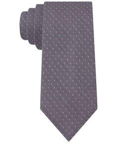 Calvin Klein Lilac Dot Skinny Tie - Ties & Pocket Squares - Men - Macy's