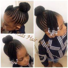 Niyah Owns Hair Cornrows - The Right Hair Styles Kids Cornrow Hairstyles, Lil Girl Hairstyles, Black Kids Hairstyles, Natural Hairstyles For Kids, African Hairstyles, Natural Hair Styles, Long Hair Styles, Teenage Hairstyles, Medium Hairstyles