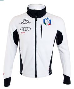 Kappa Men Italian Team FISI Fleece Jacket – White