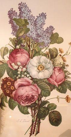 vintage floral medley