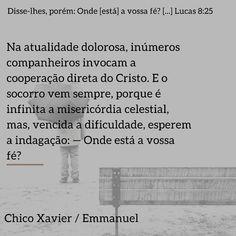 Lucas 8, Celestial, Christ, Chico Xavier, Spirituality