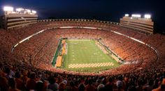 Neyland Stadium - Home of the University of Tennessee Volunteers
