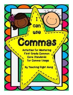 When listing 4 items, how many commas do you use to separate?