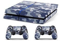 Skin PS4 HD CAMOUFLAGE MIMETICA ARTICK limited edition DECAL COVER ADESIVA