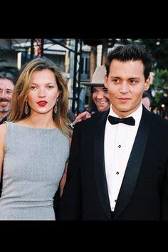 Kate Moss & Johnny Depp / Cannes Film Festival, 1997