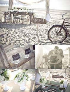 Una opción para una boda en la playa.