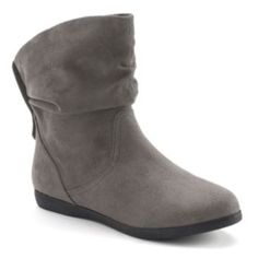 SO Women's Slouch Ankle Booties