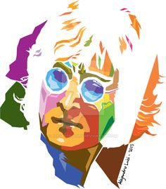 John Lennon - vector pop art by alejandroluisi.deviantart.com on @DeviantArt Beatles Art, The Beatles, Music Love, Rock Music, Vector Pop, Flat Shapes, John Lennon, Caricature, Psychedelic