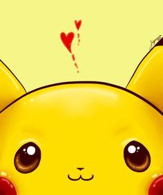I Peek At You Pikachu (by aynessa, deviantART)