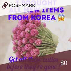 MAKE ME OFFERS Just came back from Korea and I brought all goodies that I kept in my Korean home. 😍 I have some cute stuff that you can't find in States and I promise to deliver high quality items! Feel free to make an offer if you like my items! Don't forget about BUNDLE DISCOUNT of 10% ! Thank you 🙏 kate spade Bags