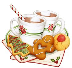 Christmas cookies & hot cocoa :)