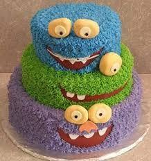 monster birthday cake - Google Search