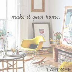 Make it your home with www.laroshe.de