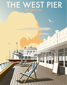 West Pier by Dave Thompson, signed open edition print, 400 x 500 mm https://www.castorandpollux.co.uk/west-pier-by-dave-thompson-signed-open-edition-giclee-400-x-500-mm-mounted-on-card/dp/7987