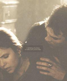 Delena. The Vampire Diaries. <3