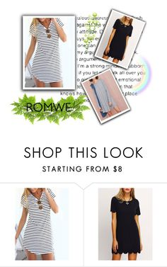 """romwe 1/10"" by majaa12 ❤ liked on Polyvore"