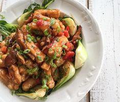 """Tofu & shitaké """"général tao"""""""