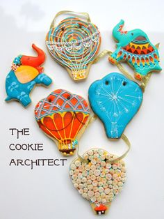 Whimsey and Elephants   The Cookie Architect   Cookie Connection