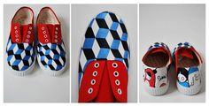 broches y etc: Zapatillas customizadas