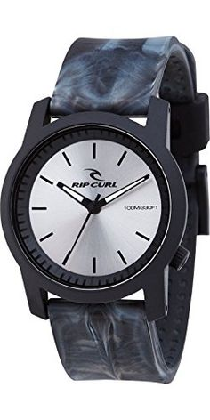 2016 Rip Curl Cambridge Watch with Silicone Strap Charcoal A2698 - http://uhr.haus/rip-curl/rip-curl-herren-cambridge-silikon-armbanduhr